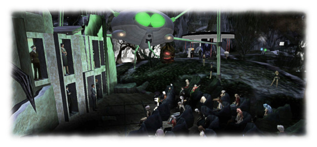 Seanchai Library, directly and through Storyfests SL, have organised, promoted and run a range of popular and successful events over the years, including a recreation of Orson Welles' 1938 broadcast of War of the Worlds - with suitable embellishments!